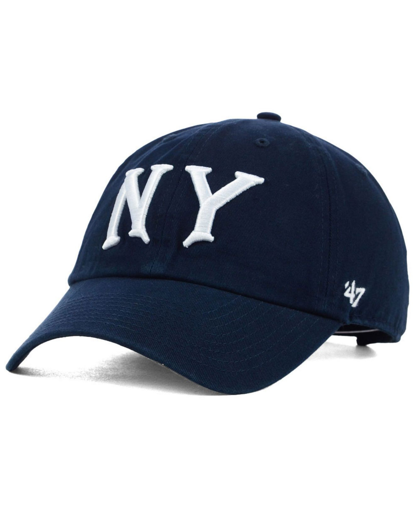 wholesale dealer 888ee fa7b0 ... new zealand lyst 47 brand new york yankees core clean up cap in blue  for men