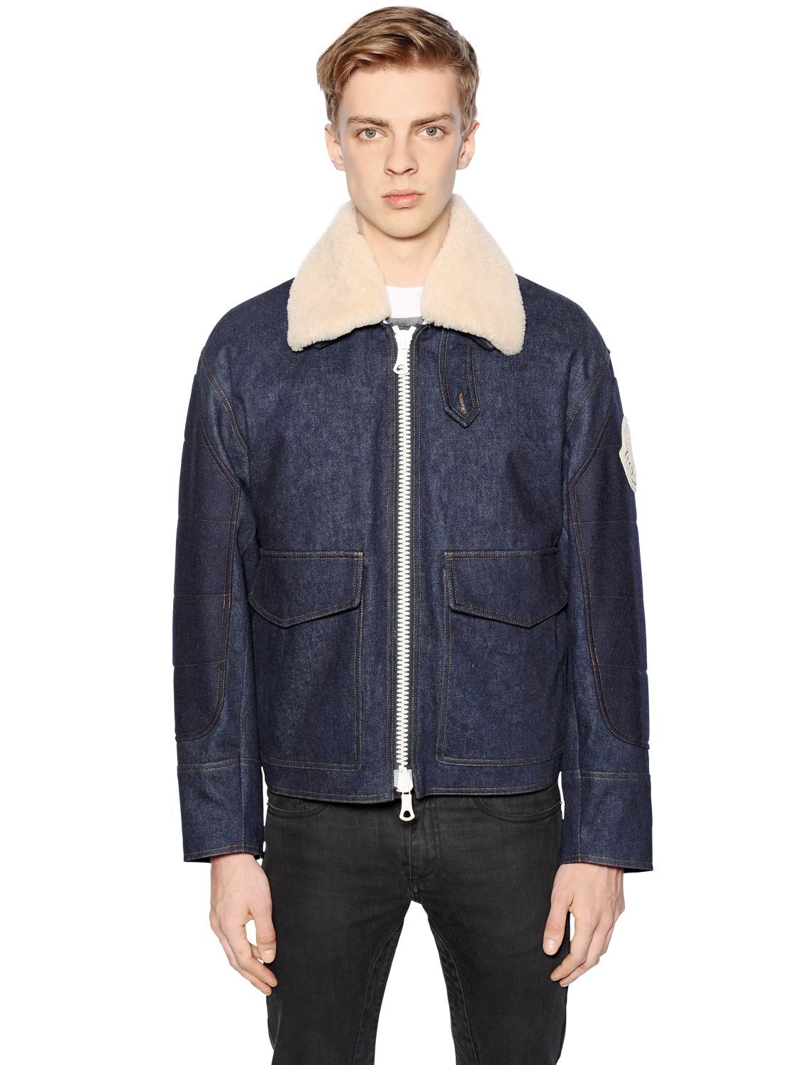 moncler x ami quilted jacket