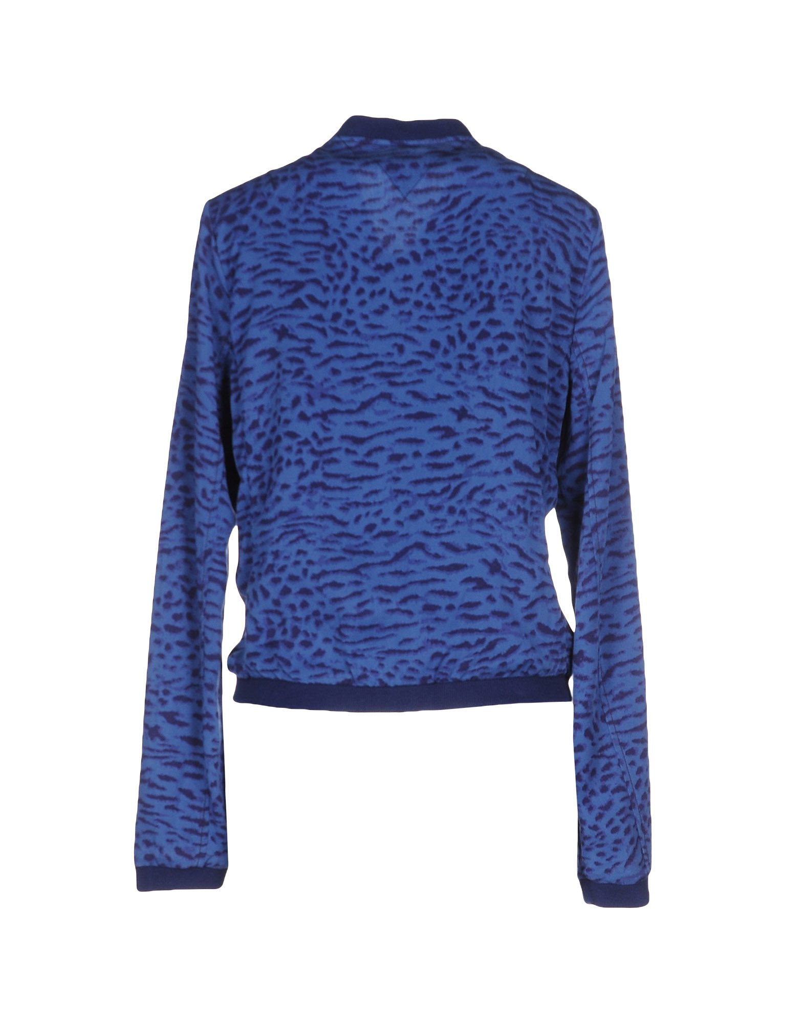 hilfiger denim jacket in blue lyst. Black Bedroom Furniture Sets. Home Design Ideas