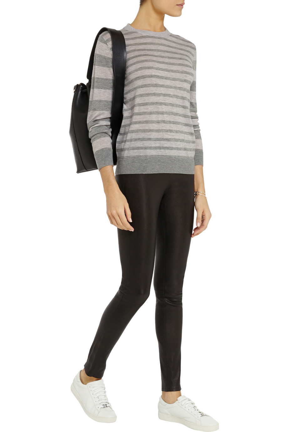 Striped in The Anine Bing Sweater
