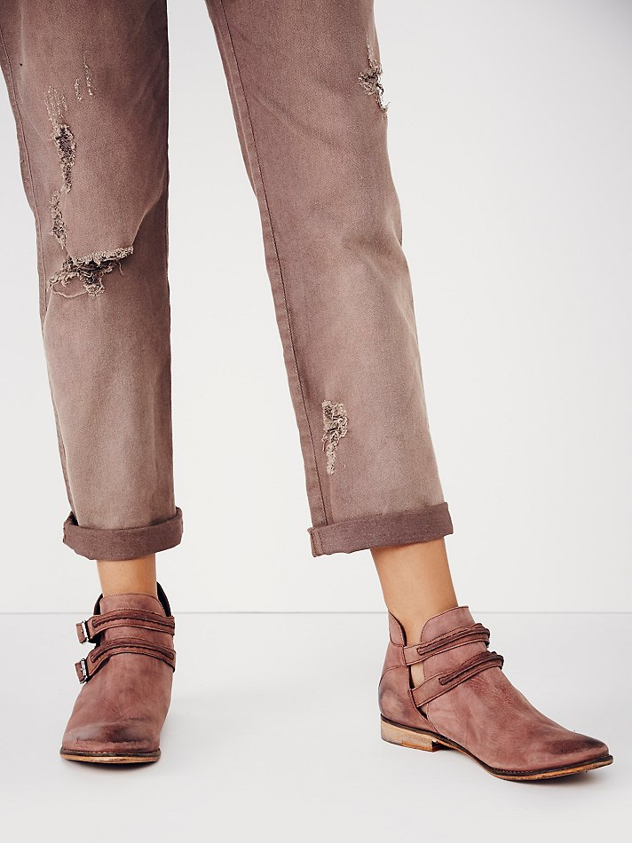 Free People Leather Fp Collection Womens Braeburn Ankle