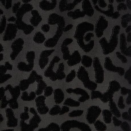 River Island Black Leopard Print Devore Cami Top in Black ... - photo#3