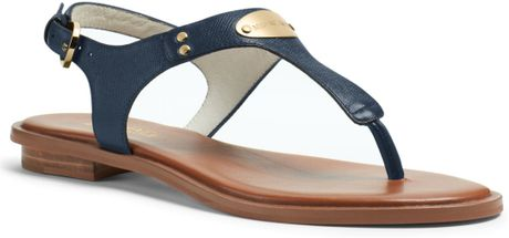 8dbfb03be7b0 michael kors navy flat sandals pale blue heels - Marwood ...