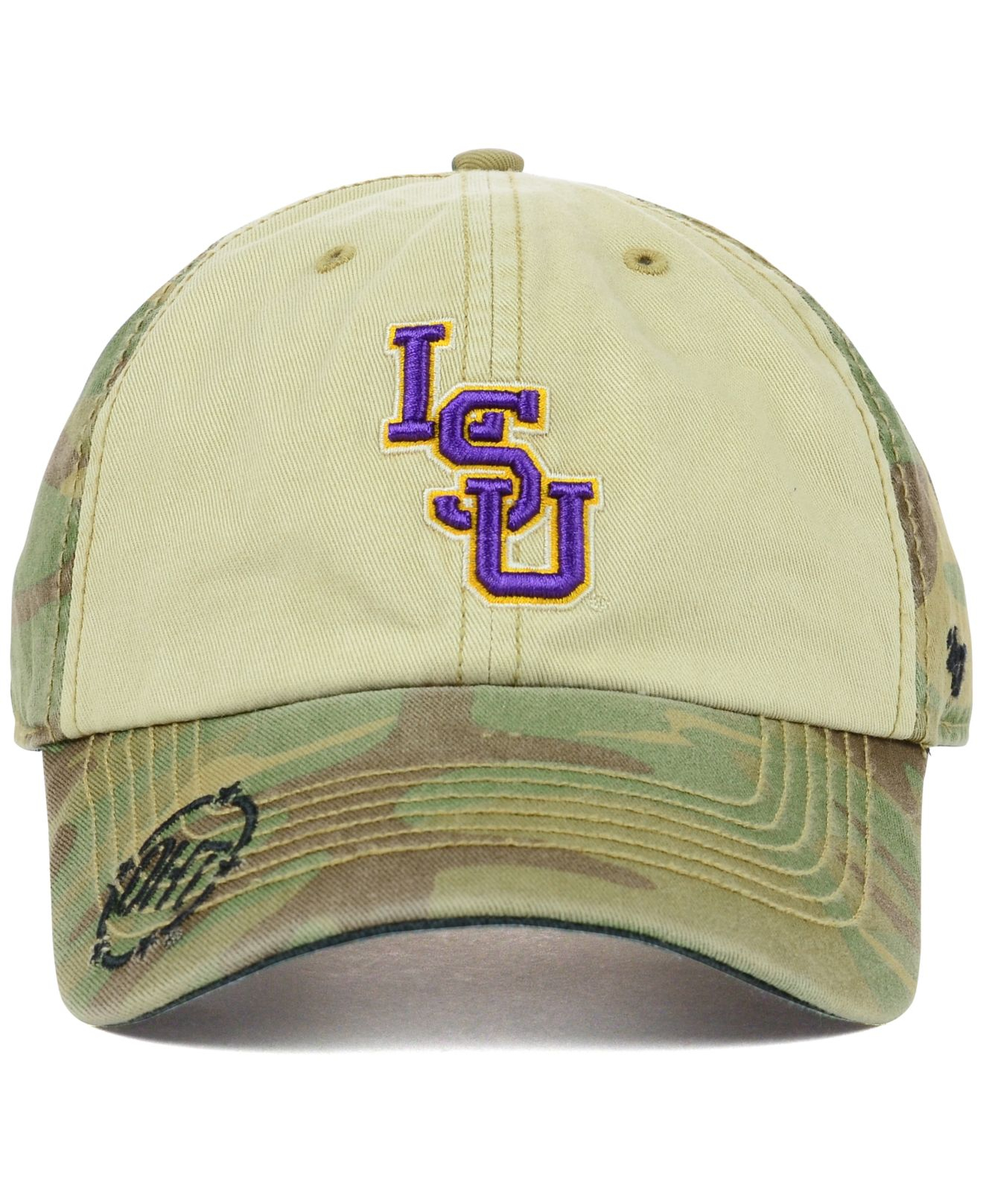 best cheap b443d 07eb5 47 Brand Lsu Tigers Oht Gordie Clean Up Cap in Green for Men - Lyst