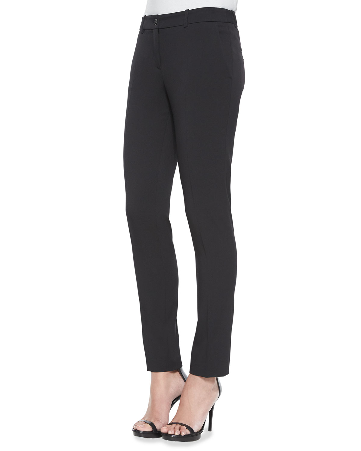 Brilliant Exposed Zippers On Both The Outer Thighs And Inner Ankles Feed To Its Subversive Style The Demi Ultra Skinny Modern Moto Comes In Two Washes Black And