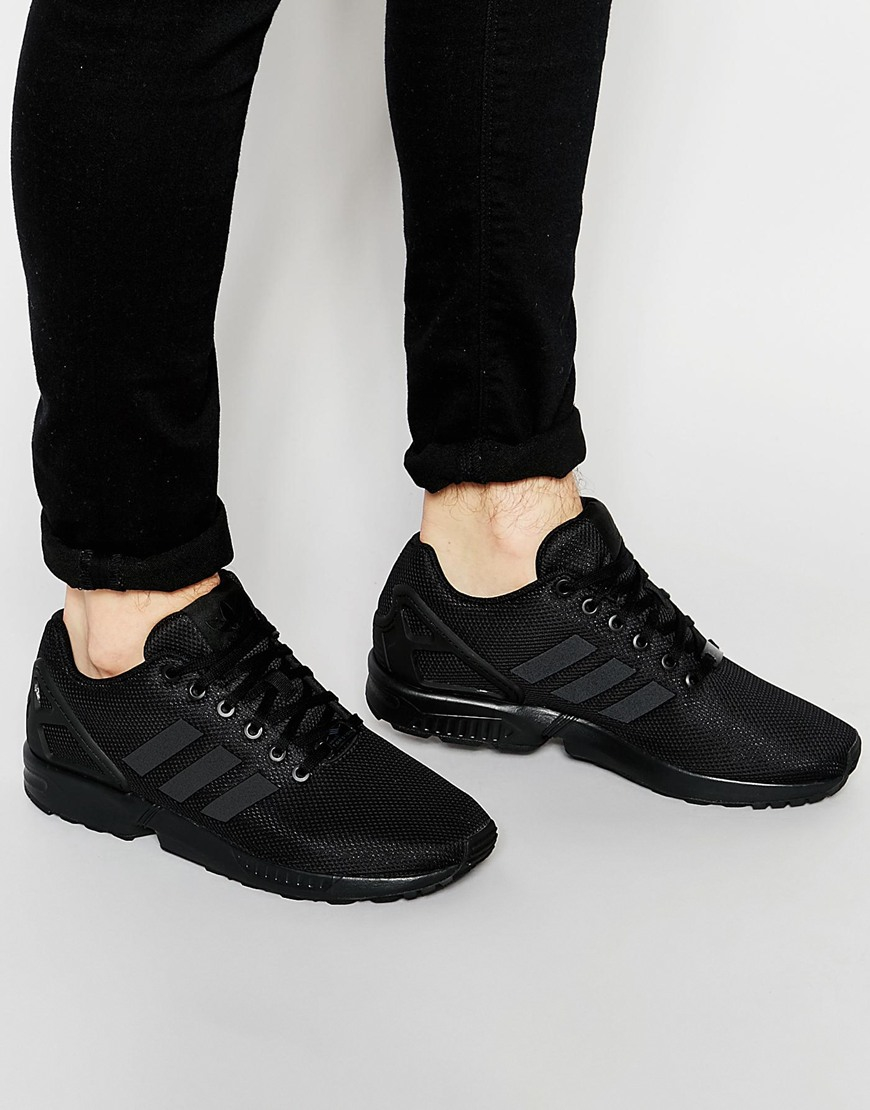 classic fit be84a 7b426 Men's Black Zx Flux Sneakers S79093