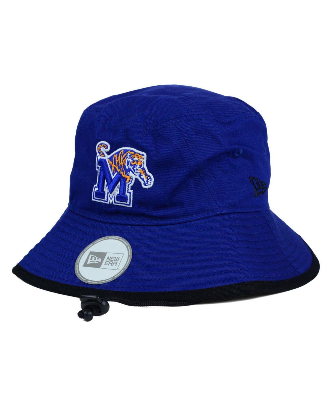 3ab3632c748 ... closeout lyst ktz memphis tigers tip bucket hat in blue for men 3cc62  a946c