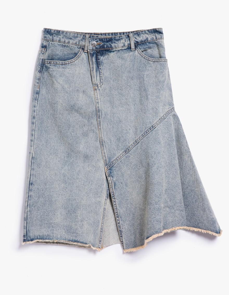 cheap monday hiro skirt in blue lyst
