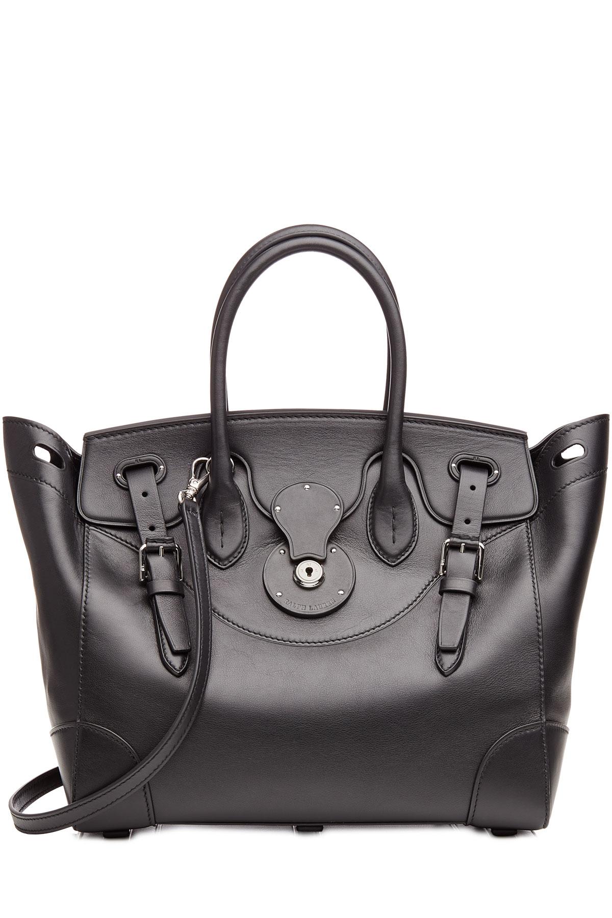 Ralph Lauren Collection Soft Ricky Handbag Leather 27 XZnAA