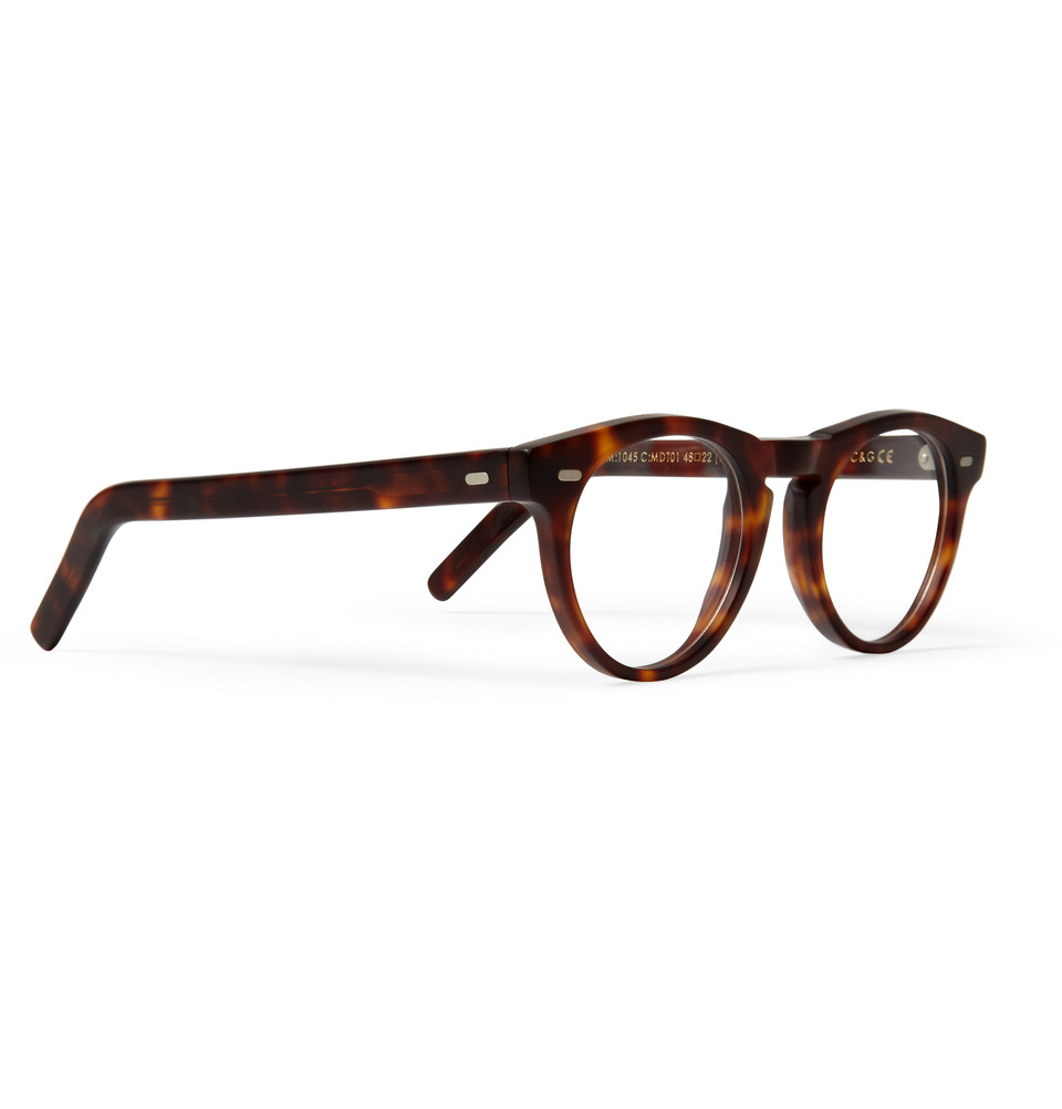 Glasses Frame Acetate : Cutler & Gross Round-Frame Matte-Acetate Optical Glasses ...