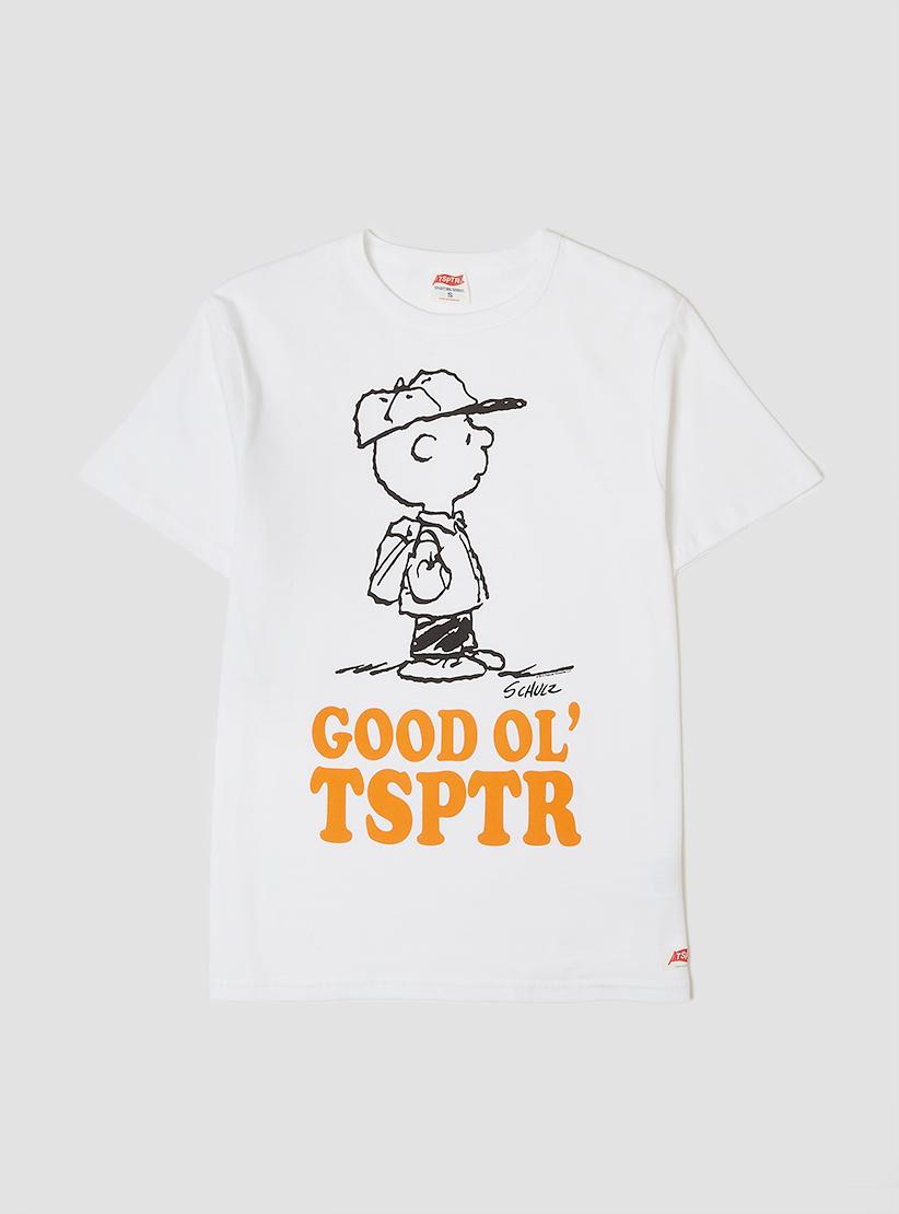 Lyst tsptr good ol 39 t shirt white in white for men for Good white t shirts