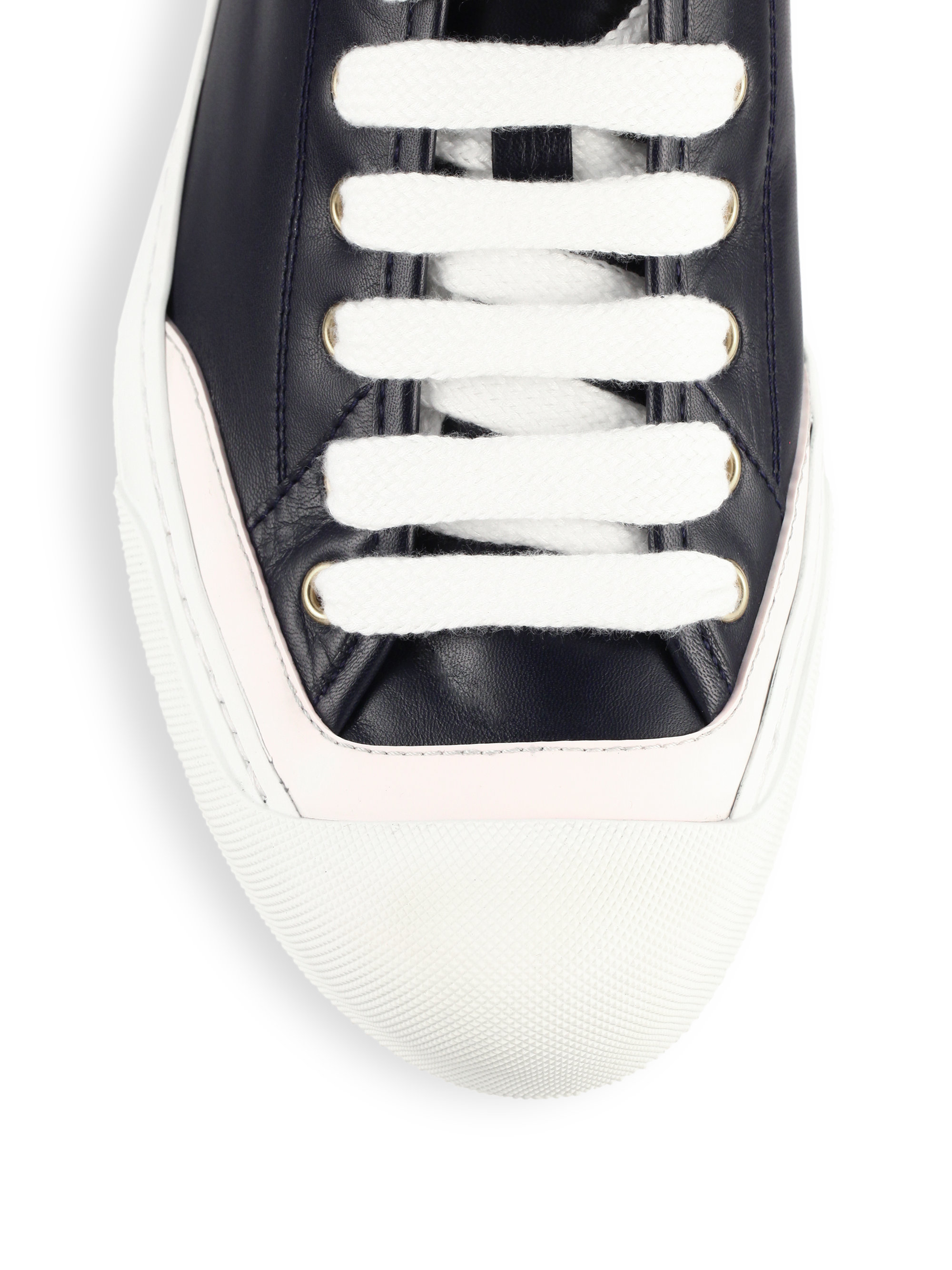 Gucci bicolor croc leather low top sneakers in blue lyst for Crocs fleurs