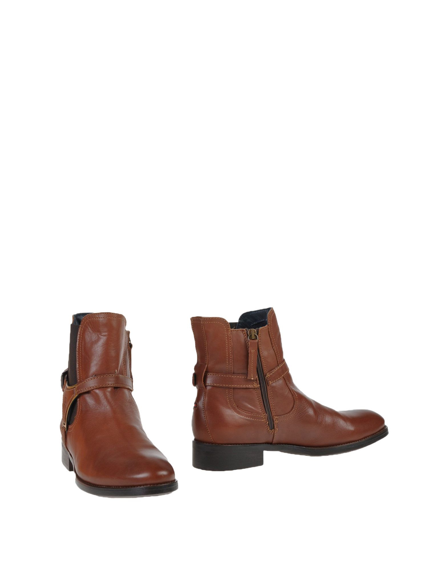 lyst tommy hilfiger ankle boots in brown for men. Black Bedroom Furniture Sets. Home Design Ideas
