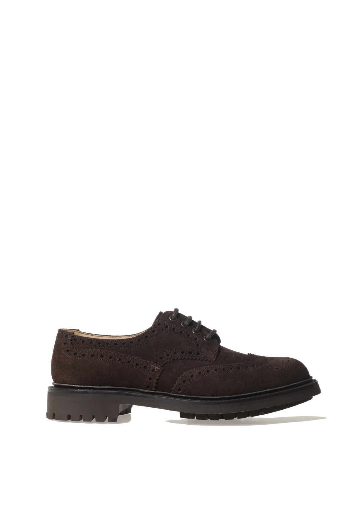 church s churchs suede lace up shoes in brown for lyst