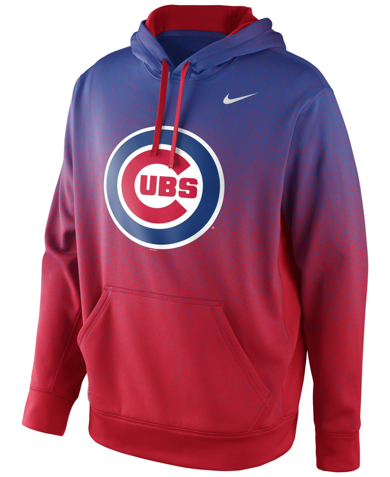 huge discount 6b25f b123a Nike Blue Men'S Chicago Cubs Ko Therma-Fit Hoodie for men