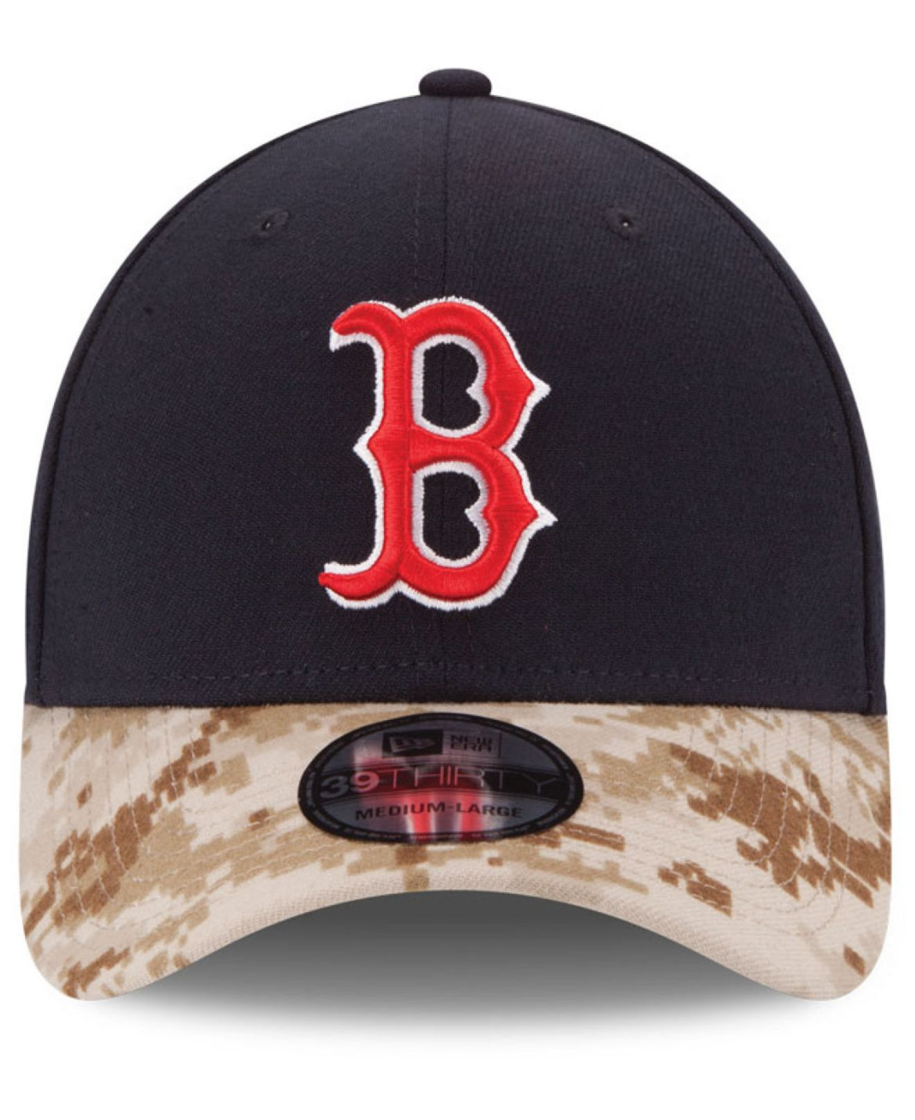ceea990f ... cheapest lyst ktz boston red sox memorial day 39thirty cap in blue for  men e248c d6227