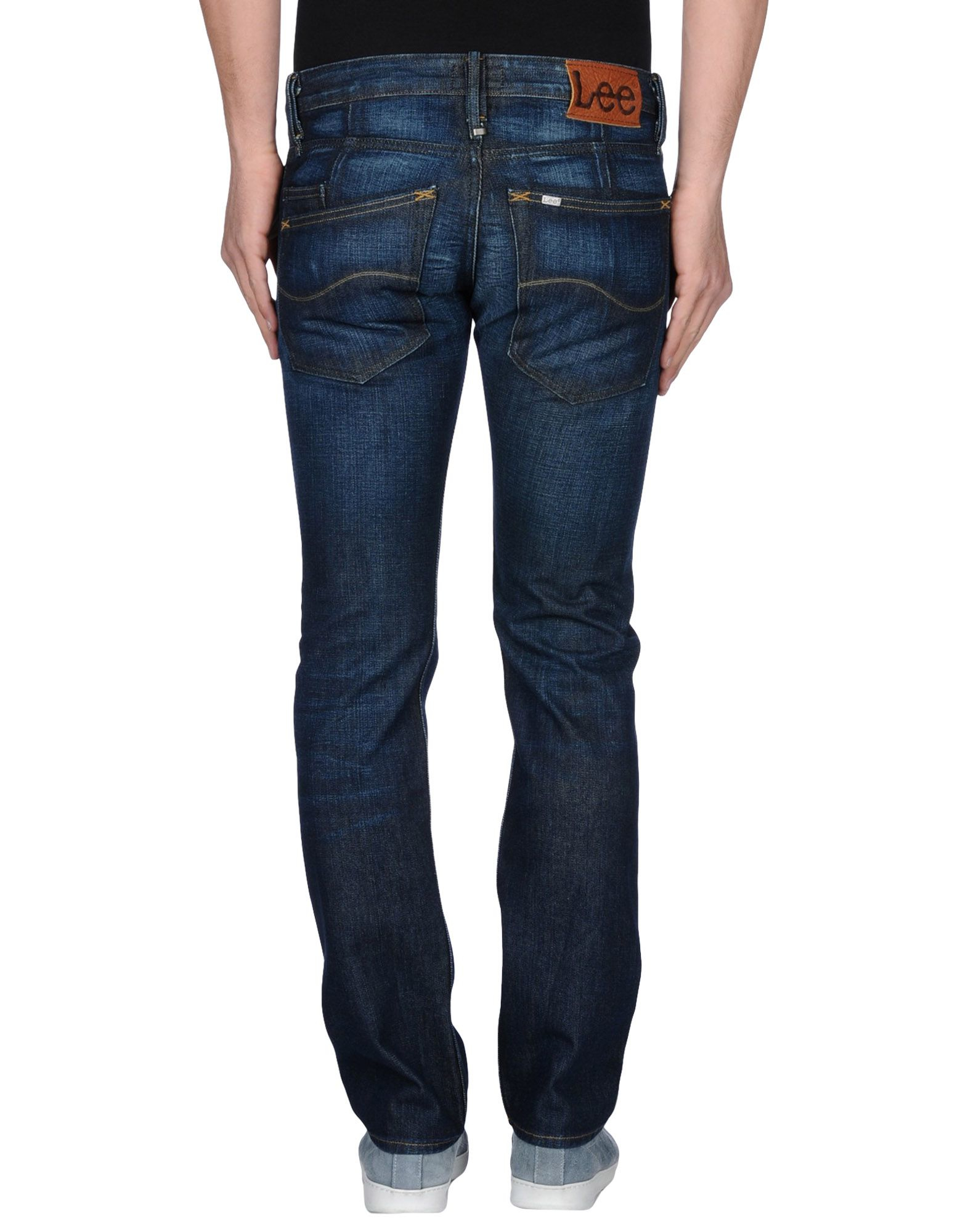 Lyst - Lee Jeans Denim Trousers in Blue for Men