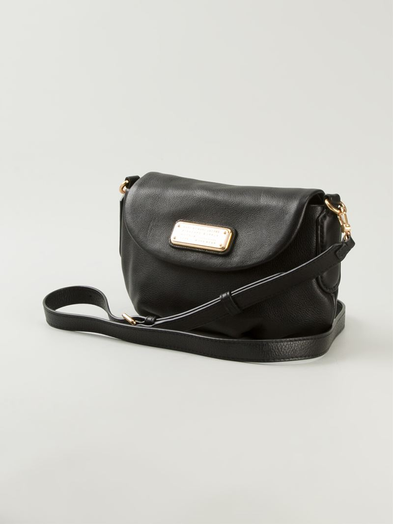 Marc by marc jacobs 'new Q Flap Percy' Crossbody Bag in Black | Lyst