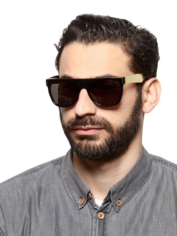ffb1ede86b7a Retrosuperfuture Flat Top Francis Sunglasses in Black for Men - Lyst