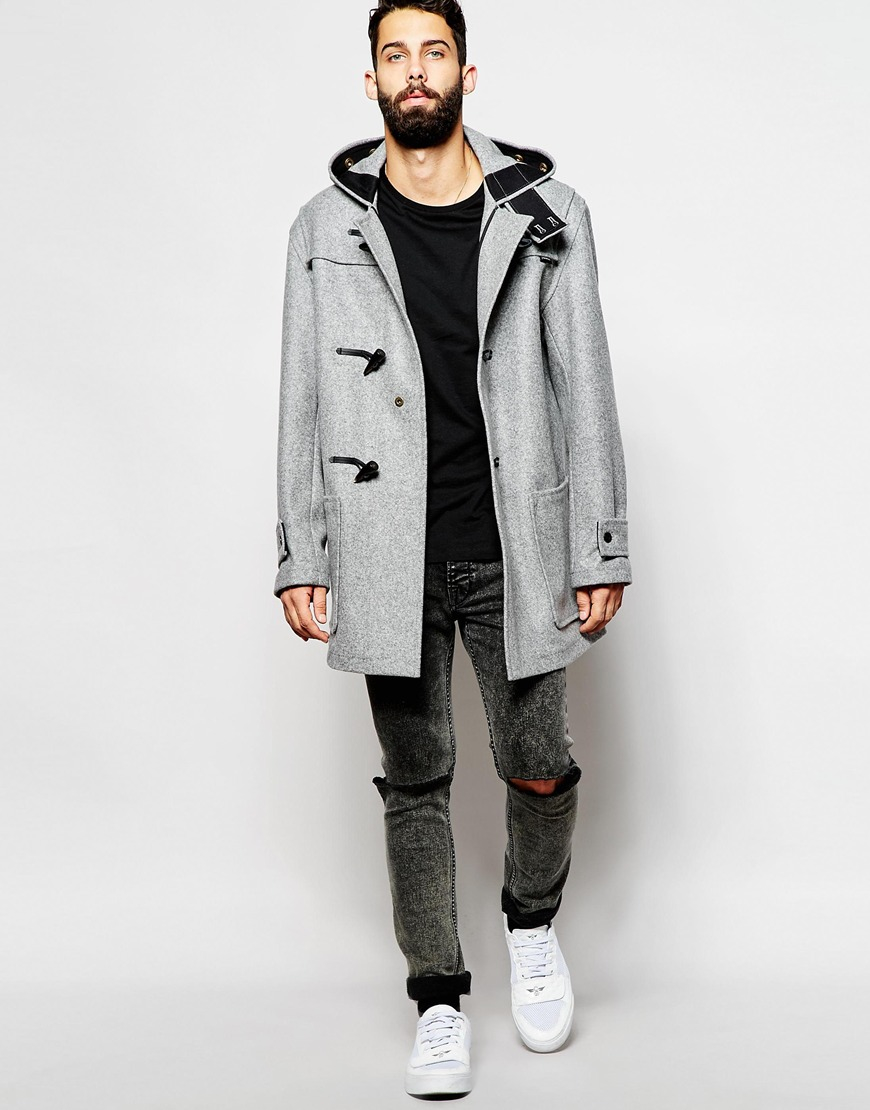 Images of Duffle Coat Mens - Reikian