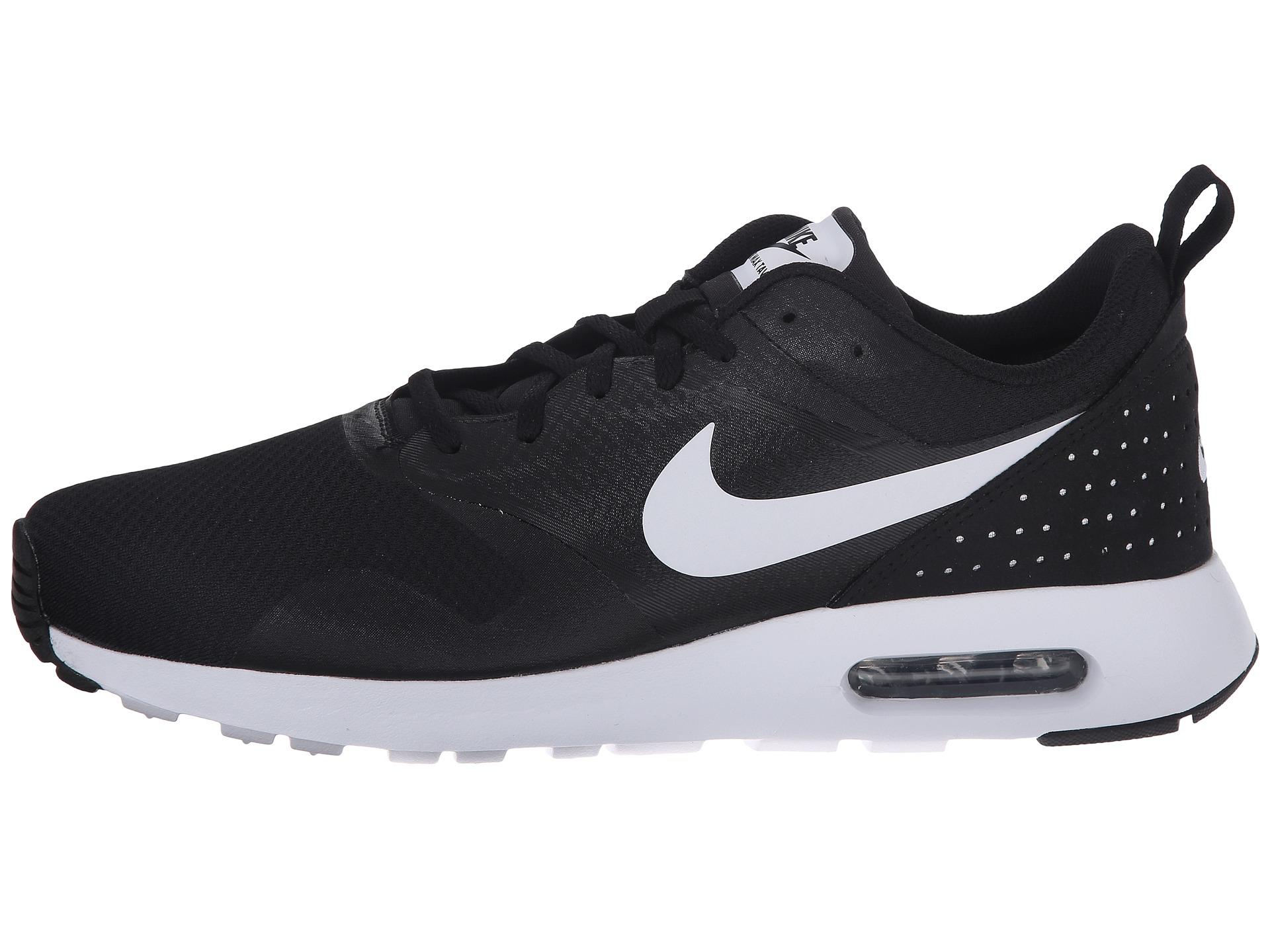 Nike Air Max Tavas Low Top Sneakers In Black For Men
