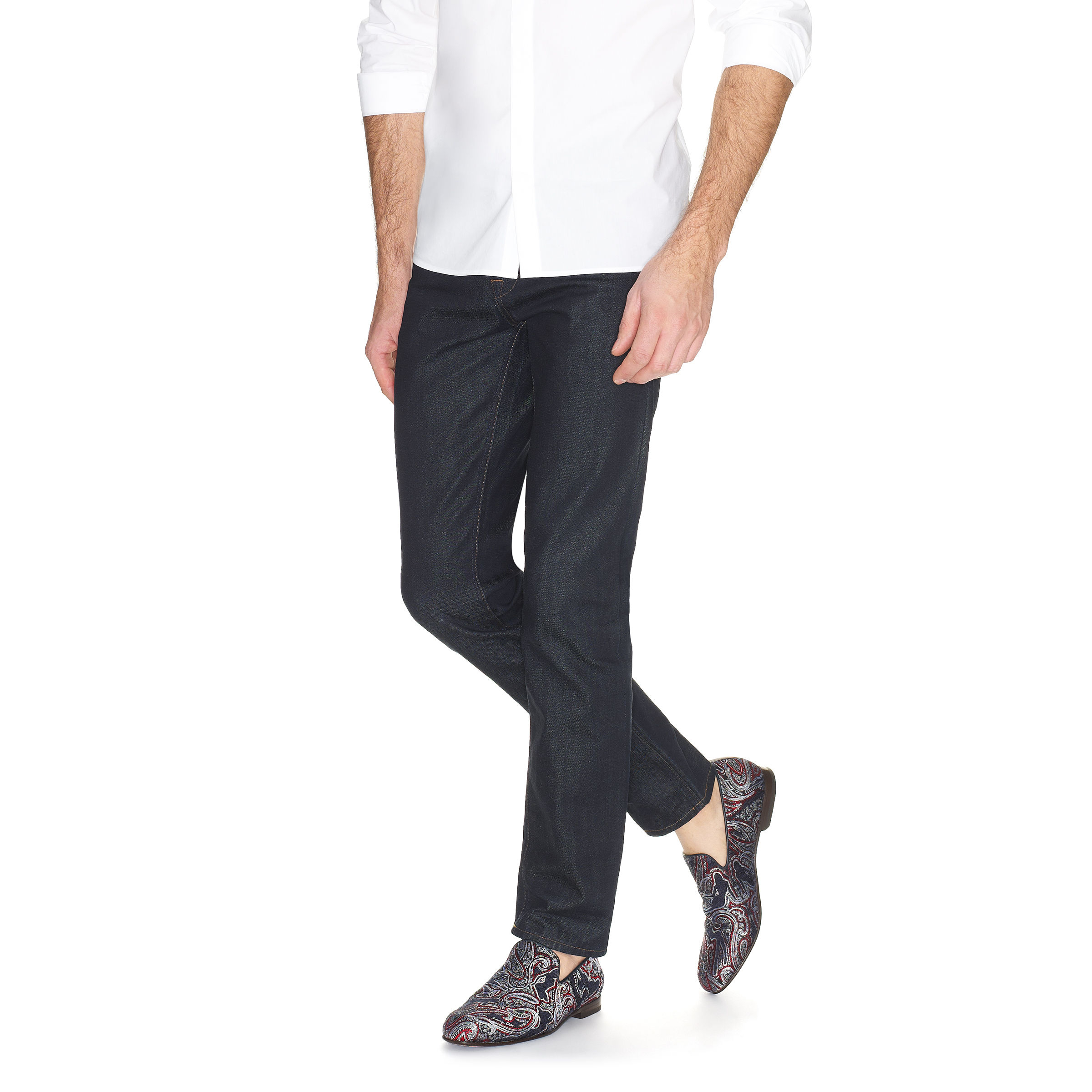 Lyst jimmy choo sloane in blue for men for Jimmy choo mens shirts