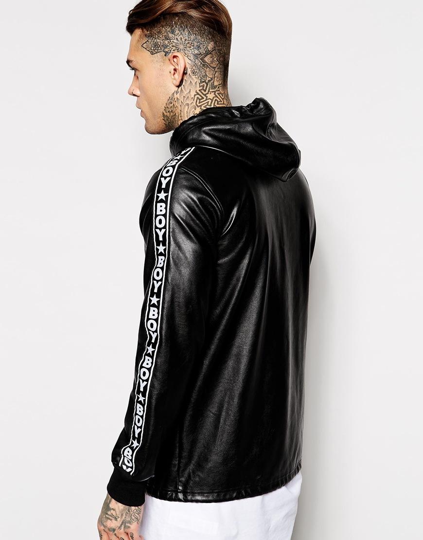 Leather jacket boy - Gallery
