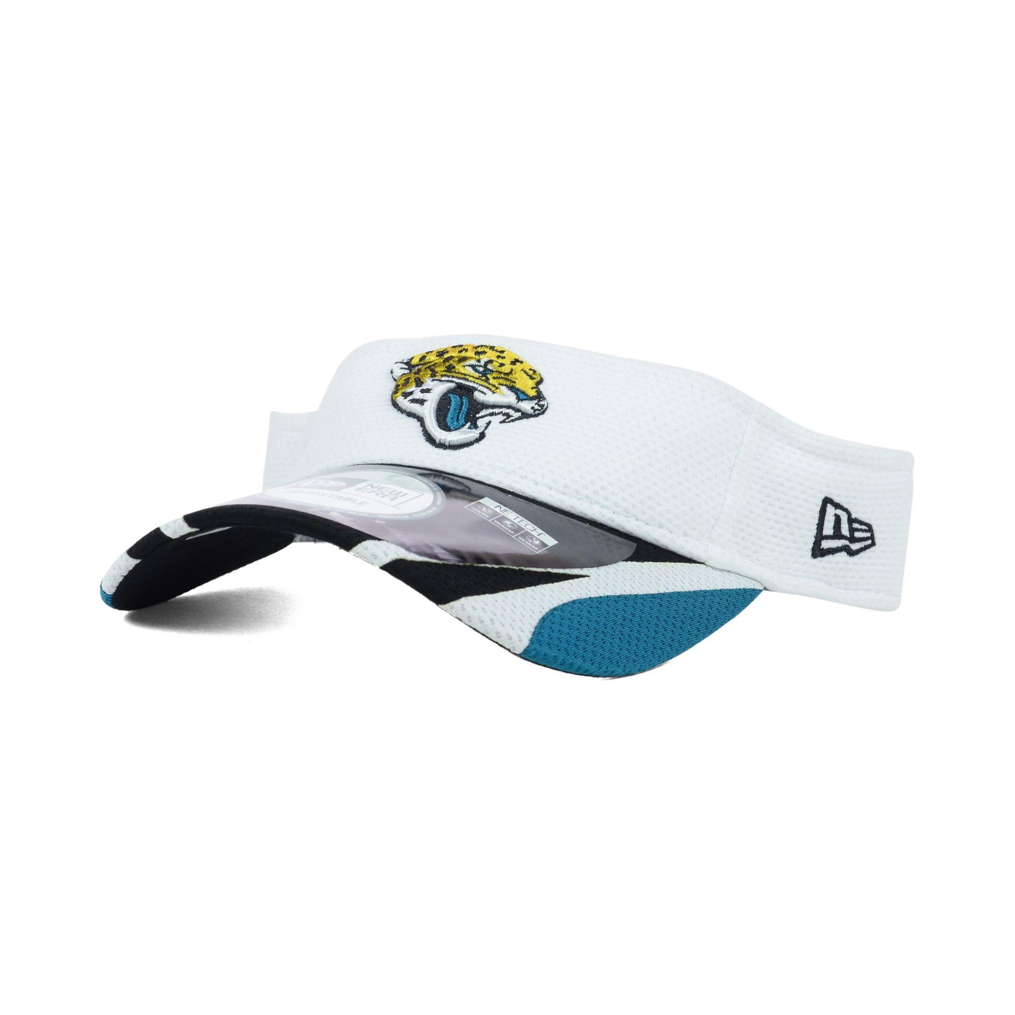 finest selection cf687 d40b3 Lyst - KTZ Jacksonville Jaguars Training Camp Visor in White for Men