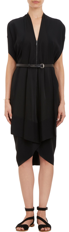 Sleeveless Zip-Front Belted Dress Zero + Maria Cornejo Sz8wWfr