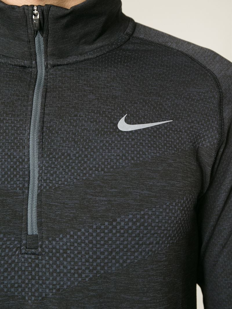 06a387d2ff20 Lyst - Nike Running Sweater in Gray for Men
