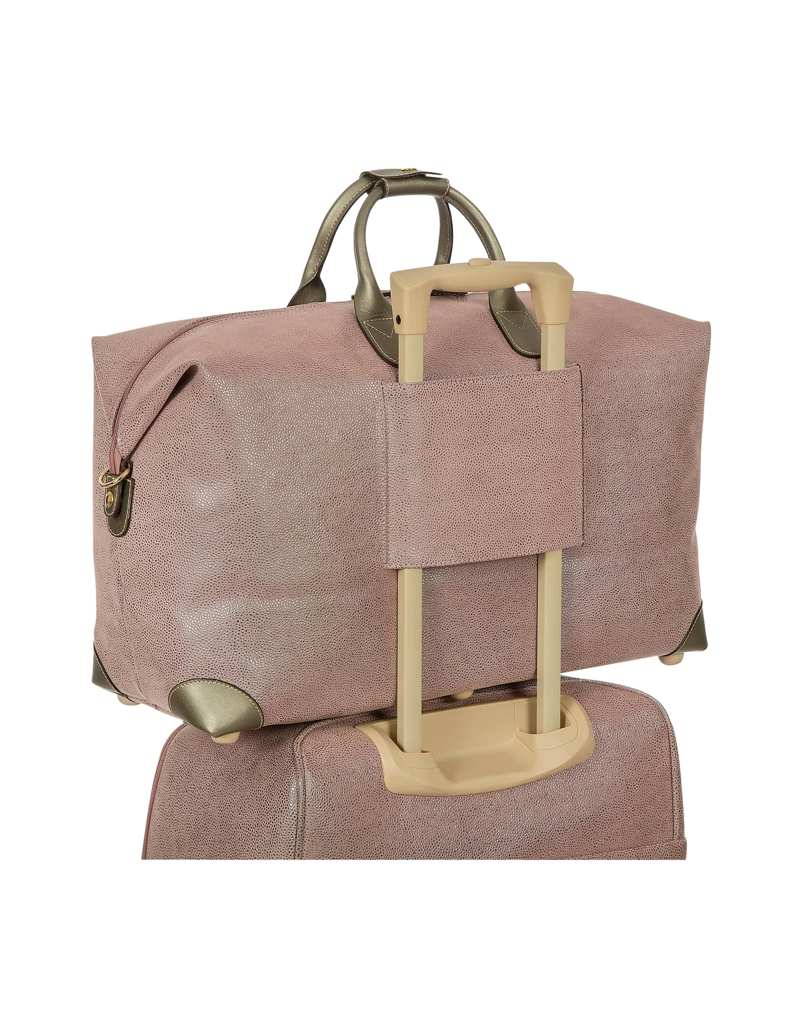 Bric's Life Micro-suede 22 Duffle Bag in Natural | Lyst