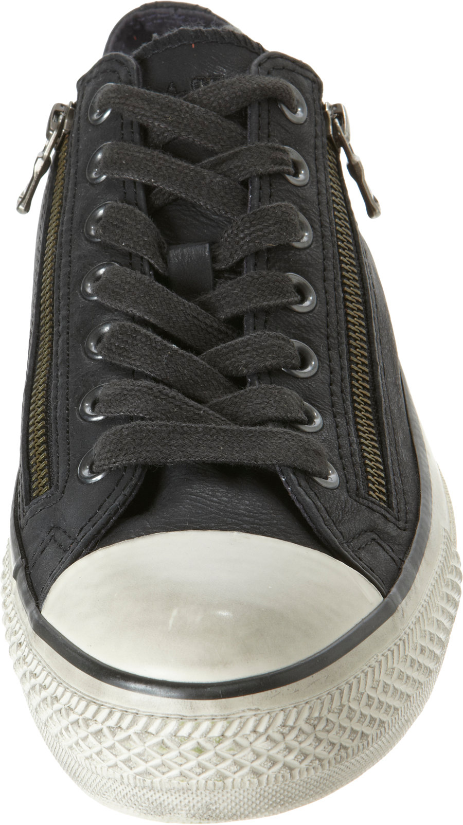 Converse Double Zip Chuck Taylor Low Top Ox In Black For