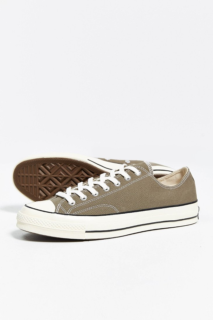 444aa7b7fbf9 Lyst - Converse Chuck Taylor All Star 70S Low-Top Sneaker in Green ...