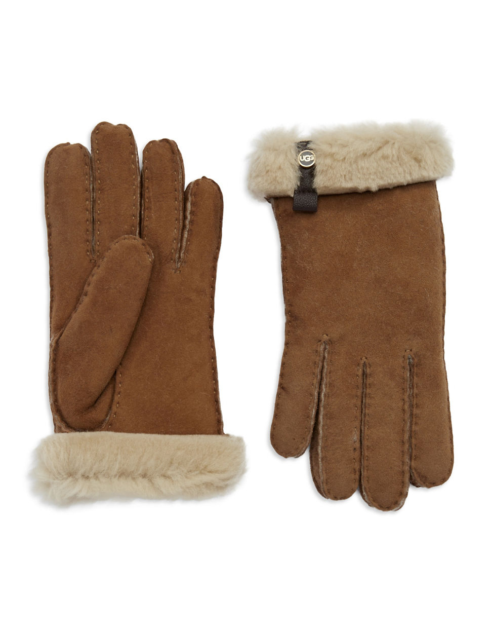 767005a8e Ugg Australia Ladies Tenney Gloves With Leather Trim - cheap watches ...