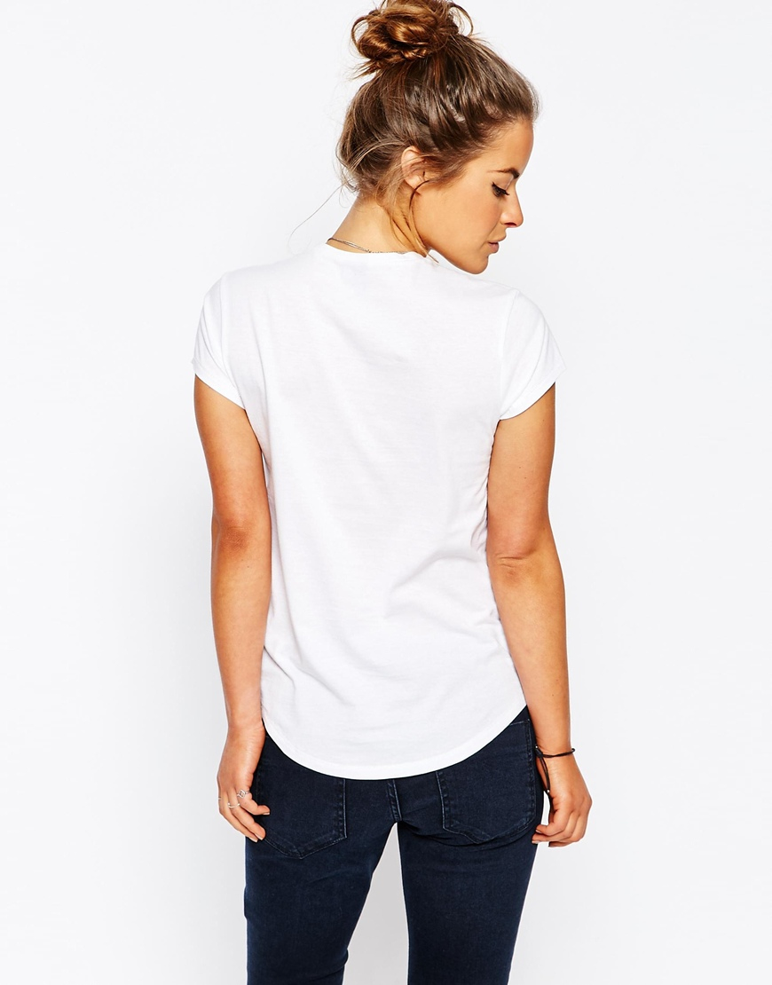 Asos petite the ultimate crew neck t shirt 2 pack save 15 for Petite white tee shirt