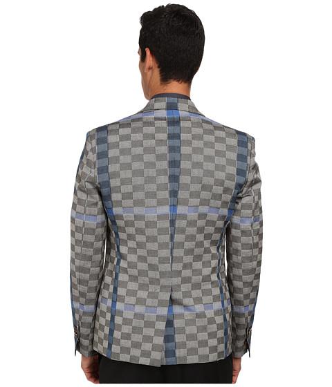 Basket Weave Vest Pattern : Lyst vivienne westwood basket weave check waistcoat