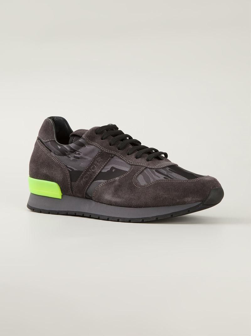 moncler camo sneakers