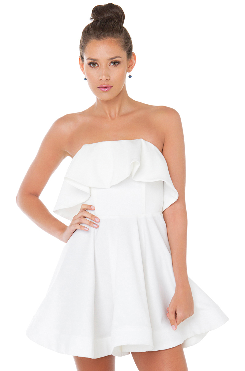 Top 30 Sexy Short Strapless Dresses 2020 | FashionGum.com |Strapless Dress Top