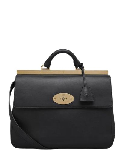 1893d3073d0f Lyst - Mulberry Small Suffolk Classic Leather Bag in Black
