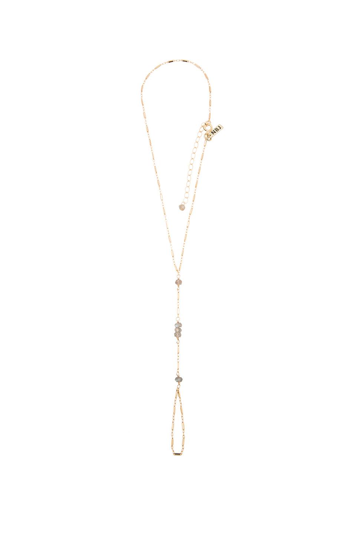natalie b jewelry leela handpiece in metallic lyst