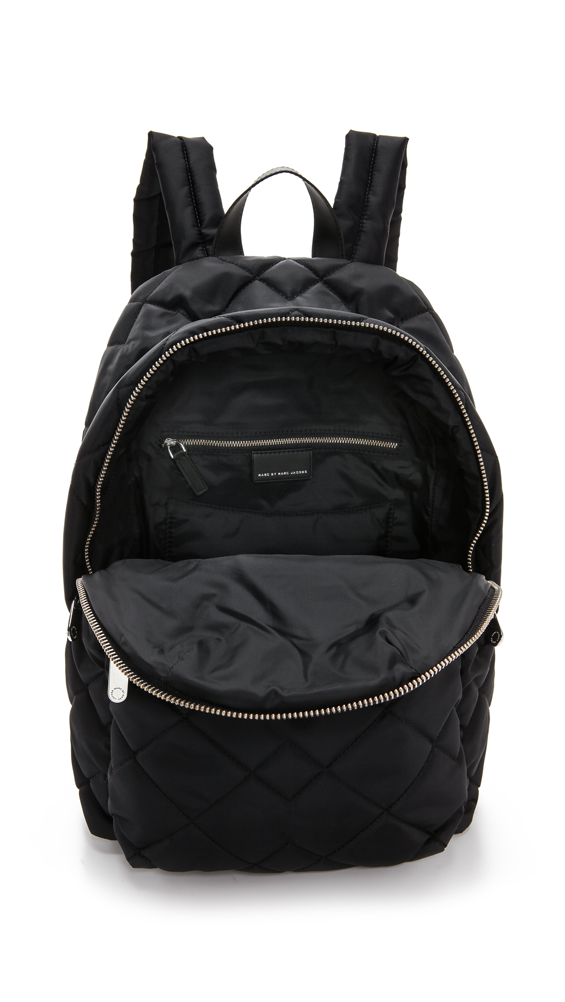 Marc By Marc Jacobs Crosby Quilt Backpack Black In Black
