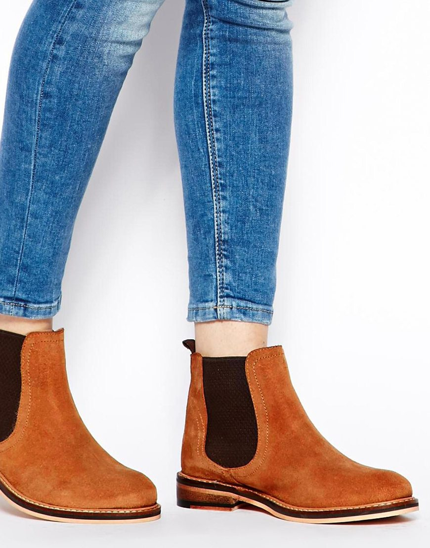 Asos Activity Suede Chelsea Boots in Brown   Lyst Tab Hunter Partner
