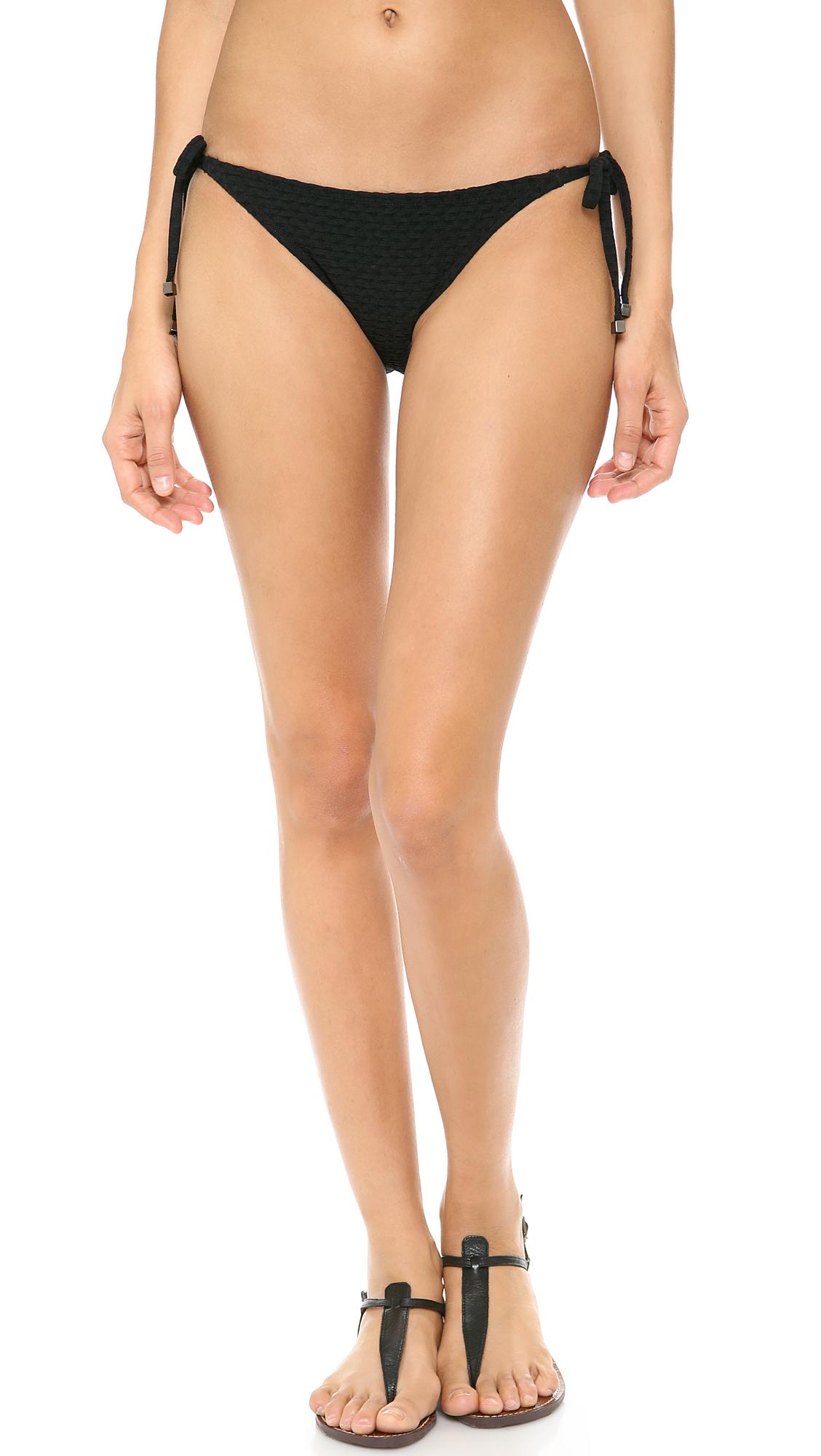 black string bikini bottoms - photo #18
