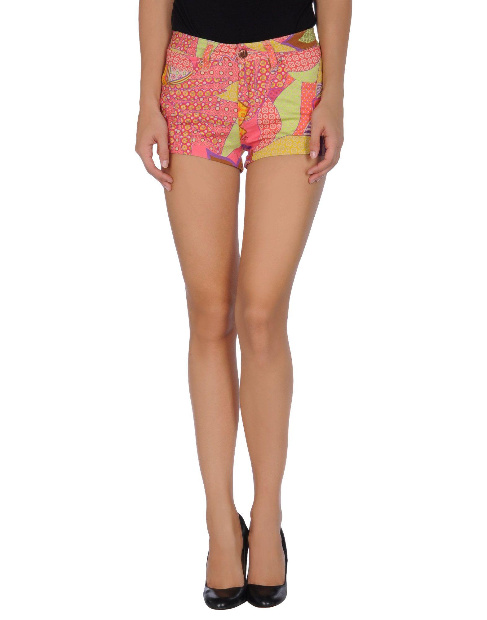 Nolita Denim Shorts in Purple | Lyst