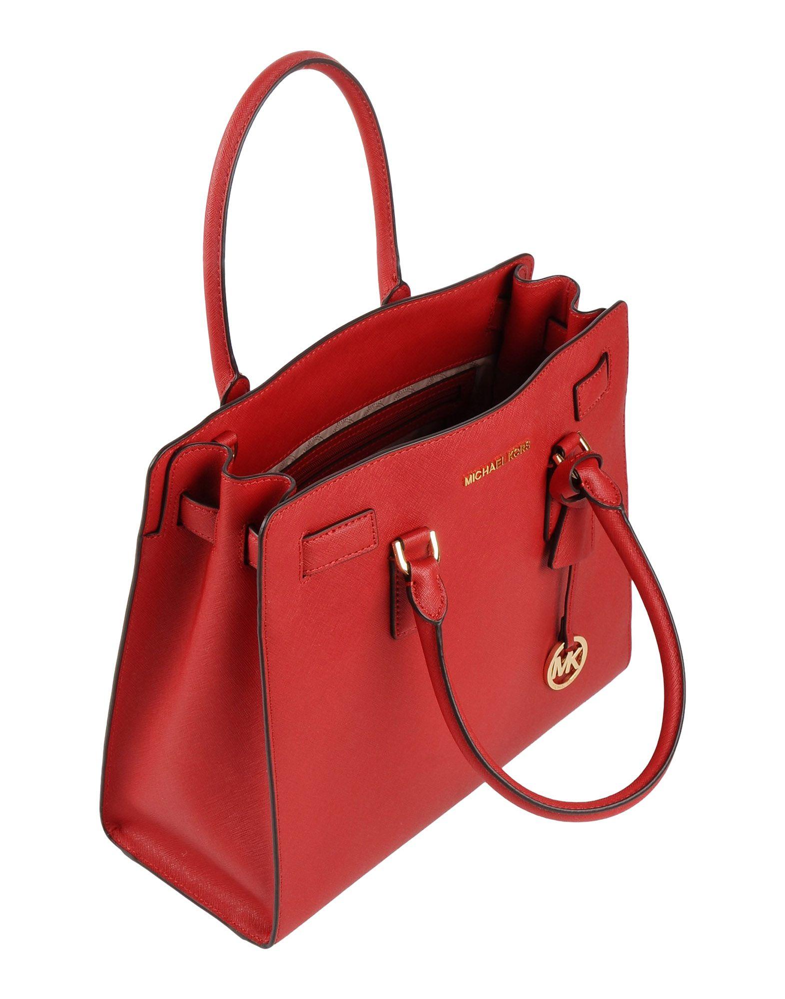 Promo Code Michael Kors Handbag In Red Lyst 15840 38b76