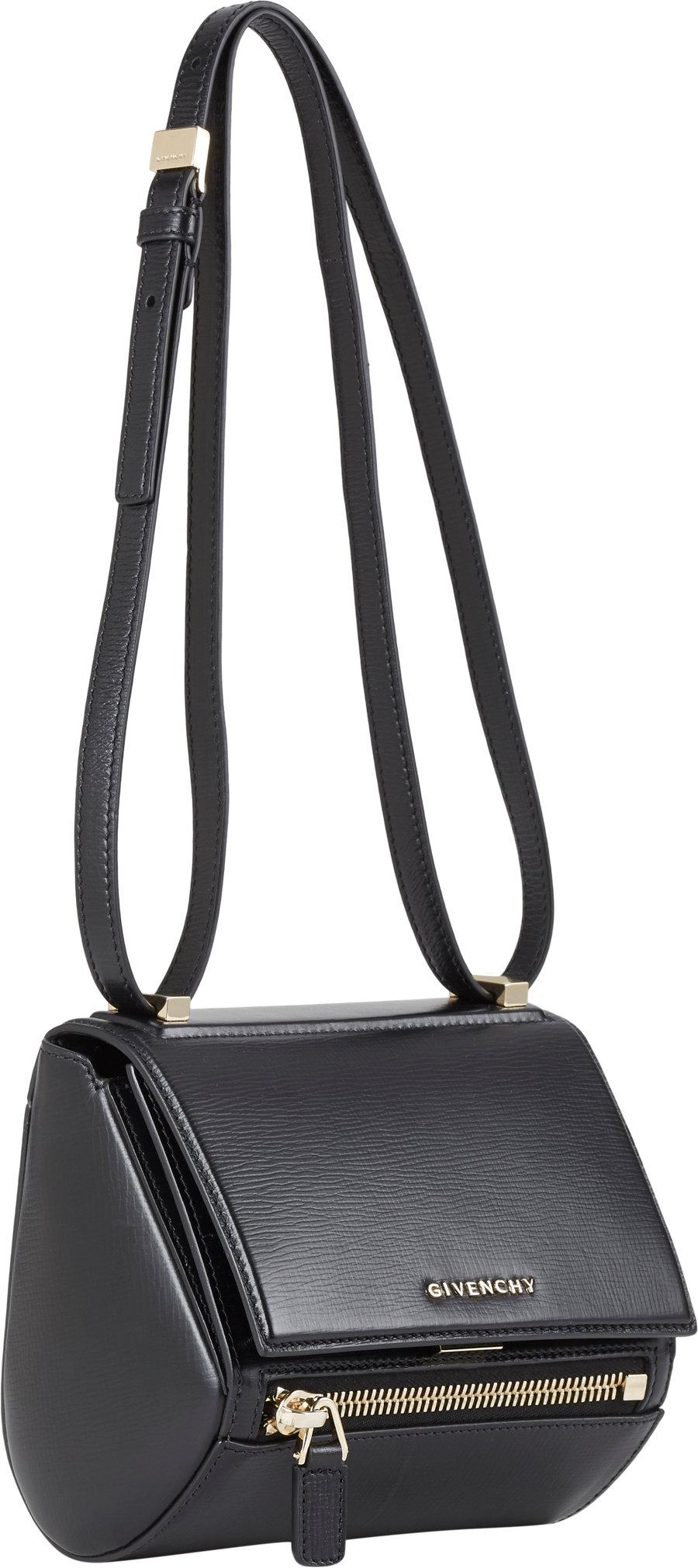 fd37bd36b0 Givenchy Mini Pandora Box Crossbody in Black - Lyst