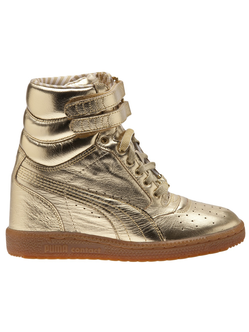 Lyst - PUMA Sky Wedge Sneaker in Metallic