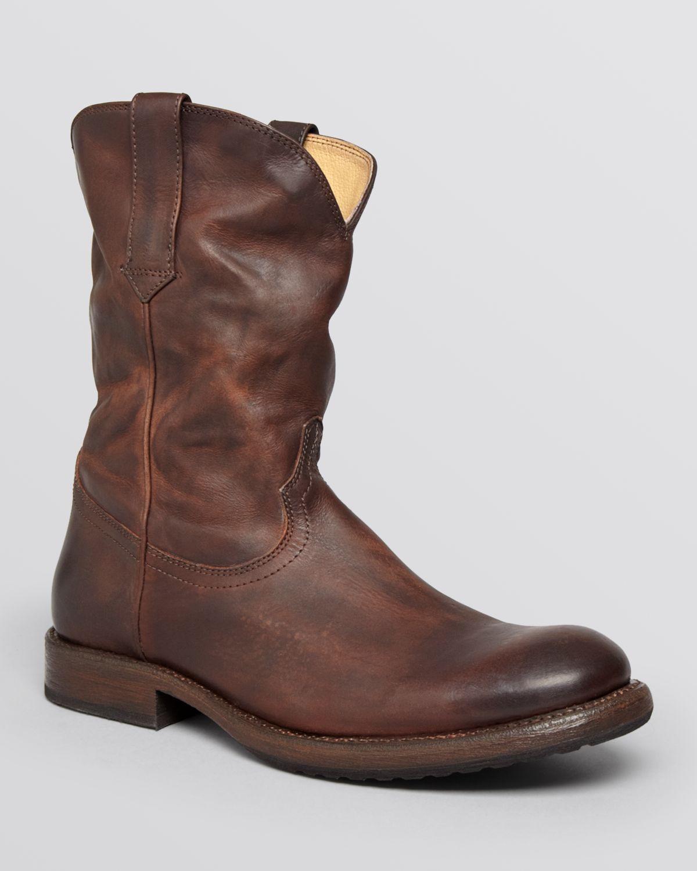 18ba8ab007f Frye Brown Duke Roper Boots for men