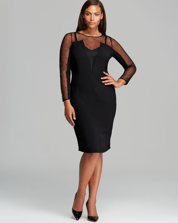 Marina Rinaldi Dalila Dress In Black Lyst