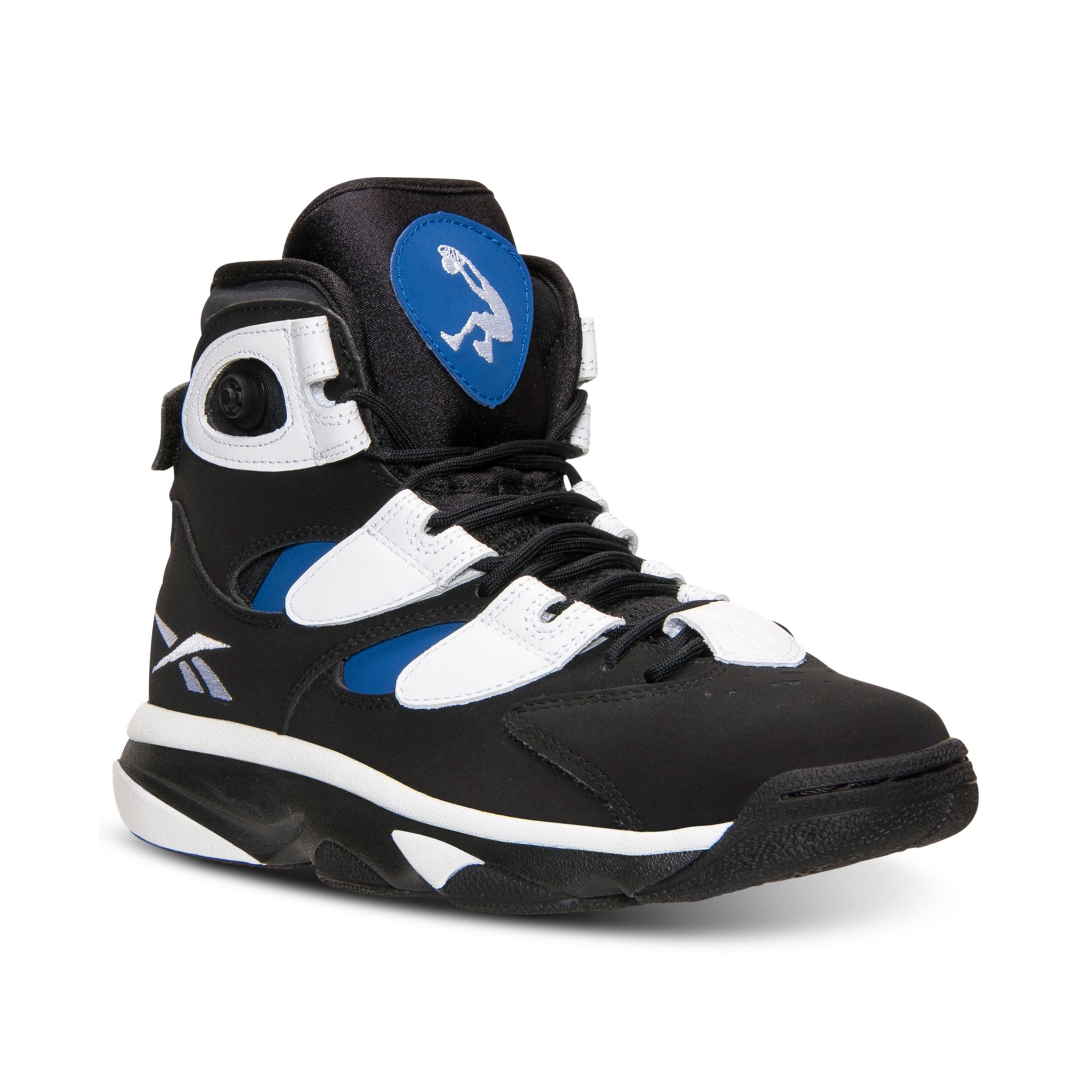 reebok men 39 s insta pump shaq attaq 4 basketball sneakers. Black Bedroom Furniture Sets. Home Design Ideas